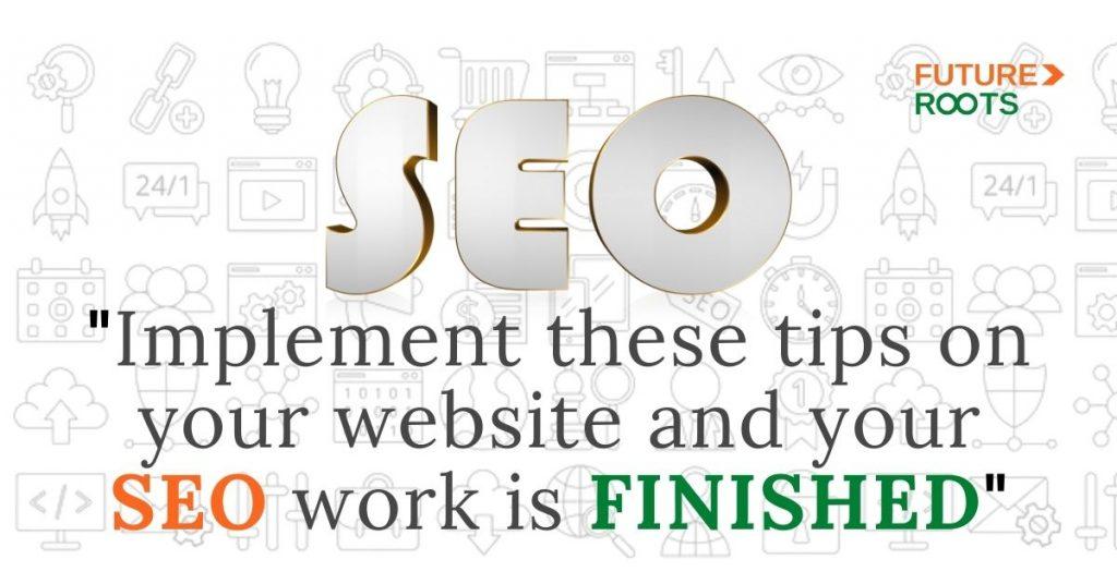 Seo tips to optimizing website for better rankings