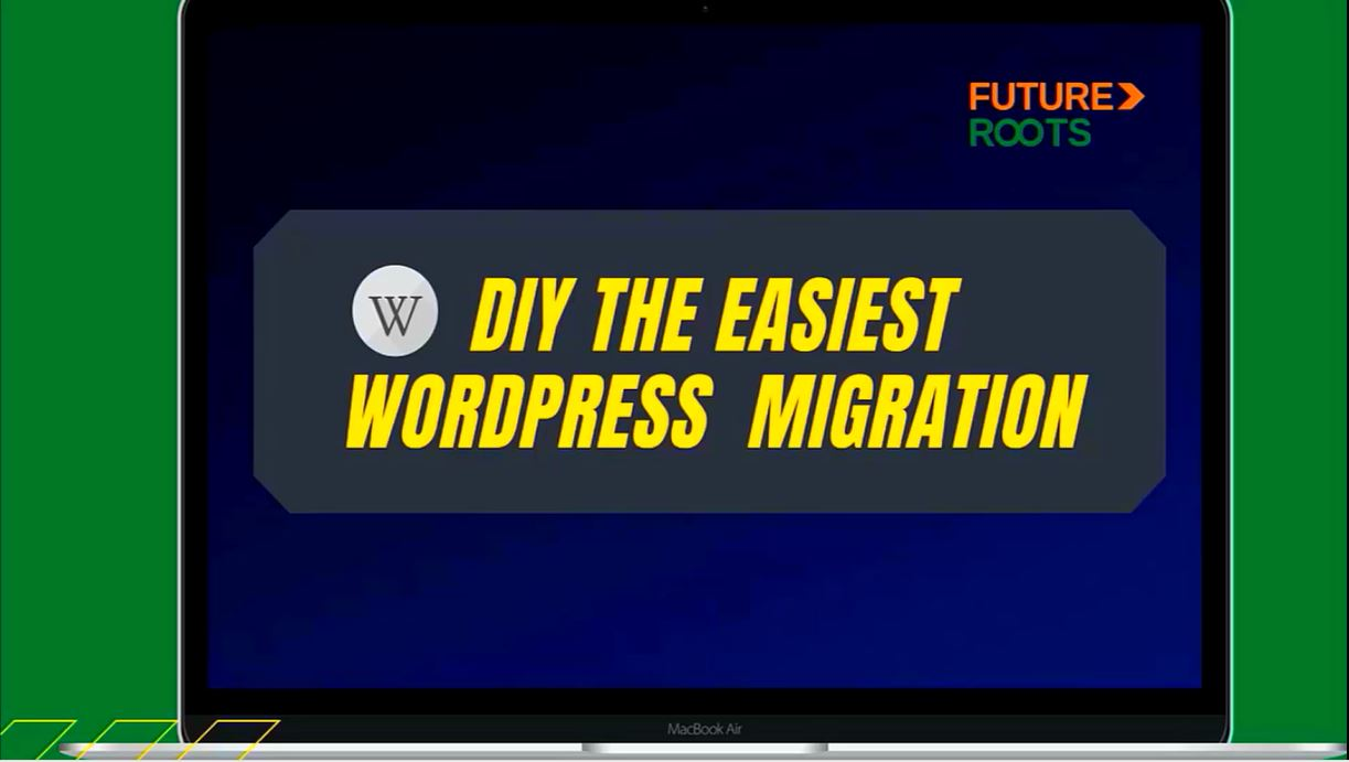 """Introduction image showing the message """"""""easiest wordpress migration"""""""