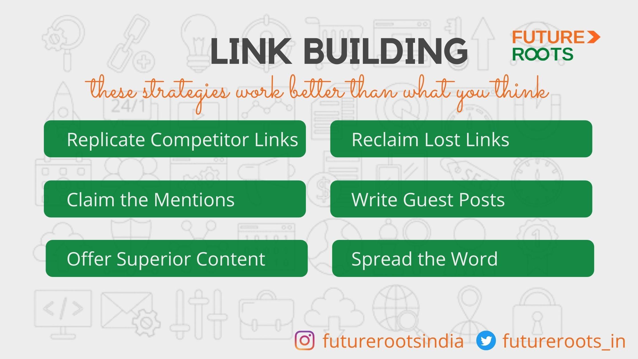 Seo tips - link building strategies