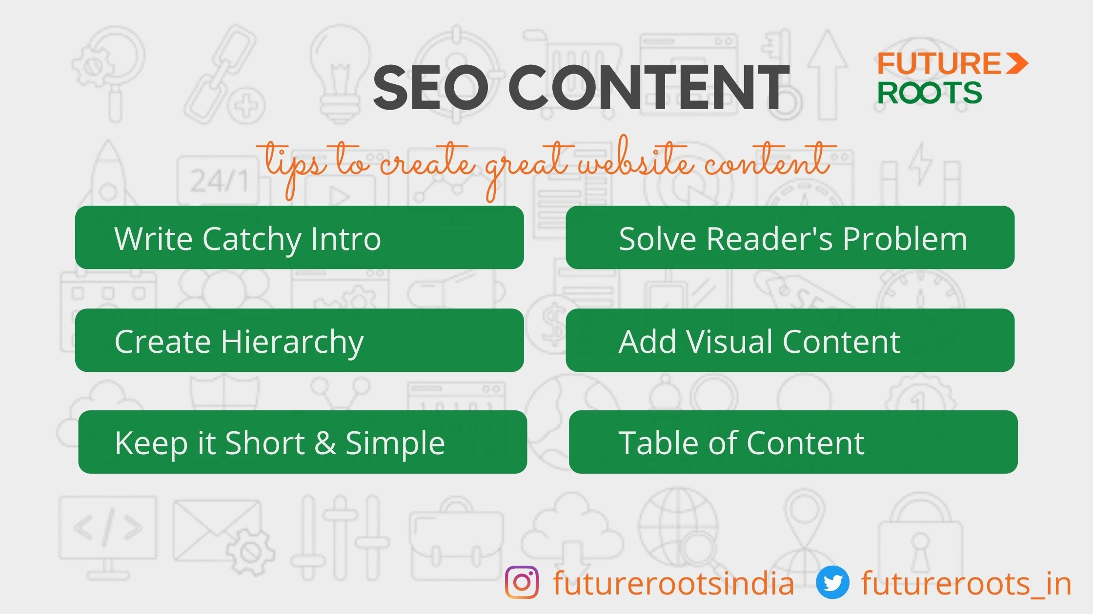 Tips to create SEO friendly content