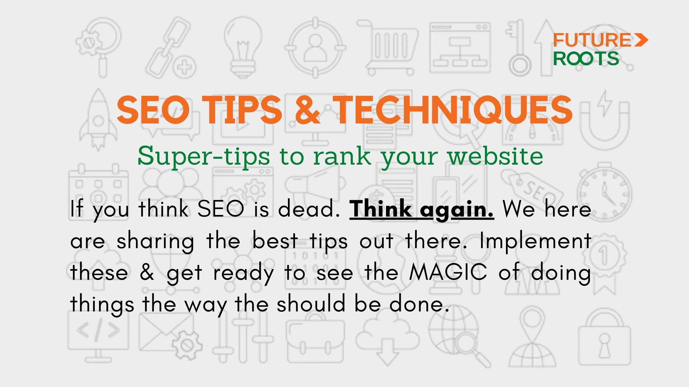 We are sharing the best seo strategy tips.